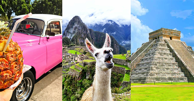 Combo Cuba - Perú - México